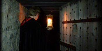 Ghost Tours tunnel-lantern